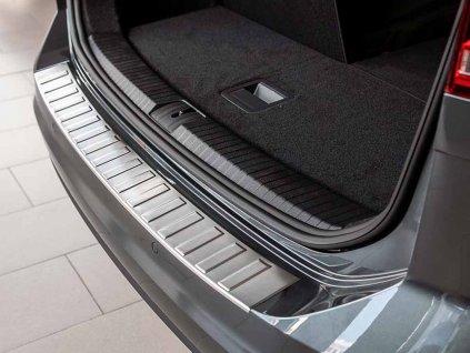 Kryt prahu pátých dveří VW Touran II 2015-2021 • nerez • ADO Pro
