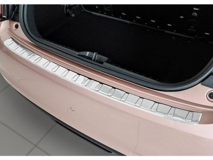 Kryt prahu pátých dveří Fiat 500 2021- Electric • nerez • AVISA