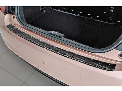 Kryt prahu pátých dveří Fiat 500 2021- Electric • černý nerez • AVISA