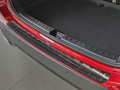 Kryt prahu pátých dveří Mercedes GLA II H247 2020-2021 • černý nerez • AVISA