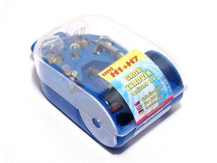 Žárovky H7+H1 servisní box univerzální