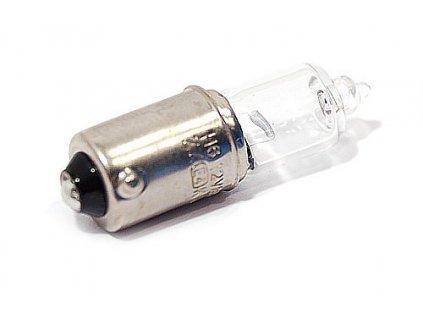 Žárovka halogenová 12V H6 6W BaX9s