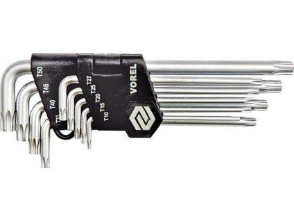 Sada zástrčných klíčů TORX T10-T50