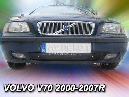 Zimní clona Volvo V70 2000-2004 do předního nárazníku