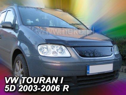 Zimní clona VW Touran 2003-2006 horní