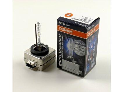 Xenonová výbojka OSRAM D1S 12V 35W Night Breaker Unlimited Xenarc PK32d-2