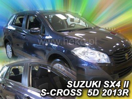 Ofuky oken Suzuki SX4 S-Cross 2013-2018 (+zadní)