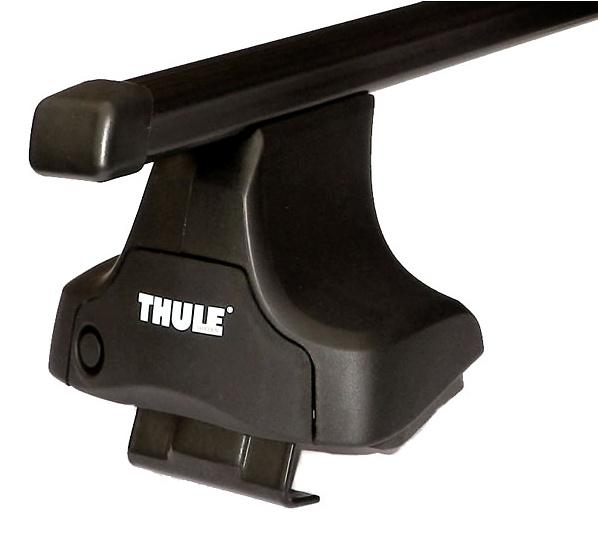 Střešní nosiče(příčníky) Thule 754+čtyřhranné tyče 763+kit