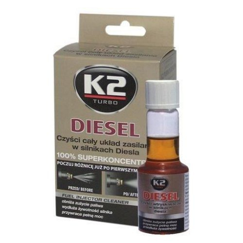 Compass • Aditivum do paliva DIESEL 50 ml - K2