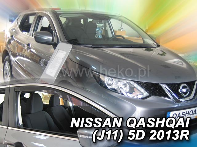 Heko • Ofuky oken Nissan Qashqai 2013- • sada 2 ks