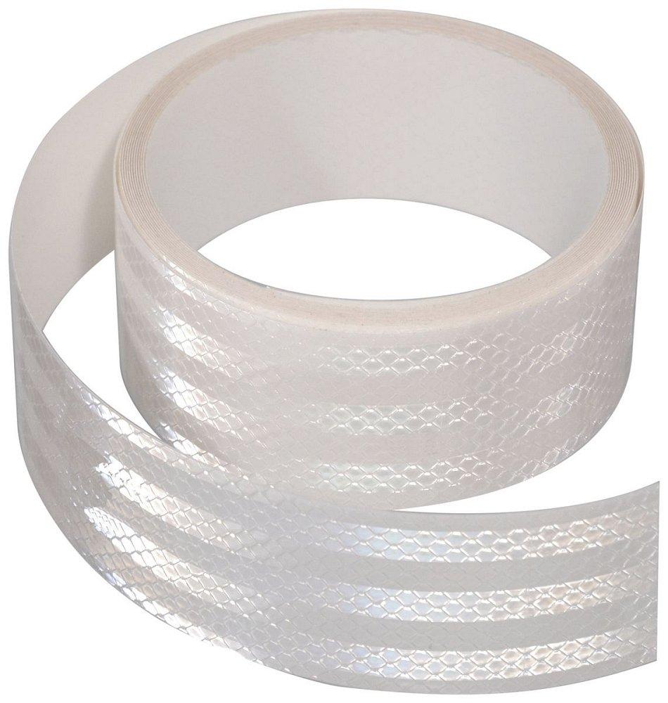 Compass • Samolepící páska reflexní 1m x 5cm bílá