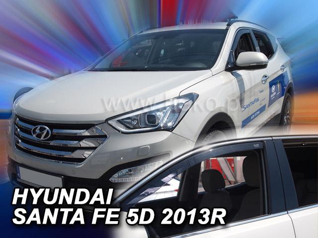 Heko • Ofuky oken Hyundai Santa Fe 2012- • sada 2 ks