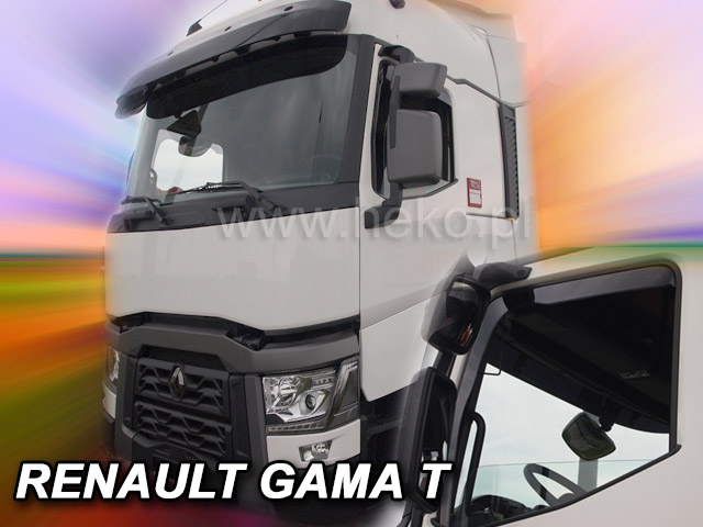 Heko • Ofuky oken Renault Gama T 2014- • sada 2 ks