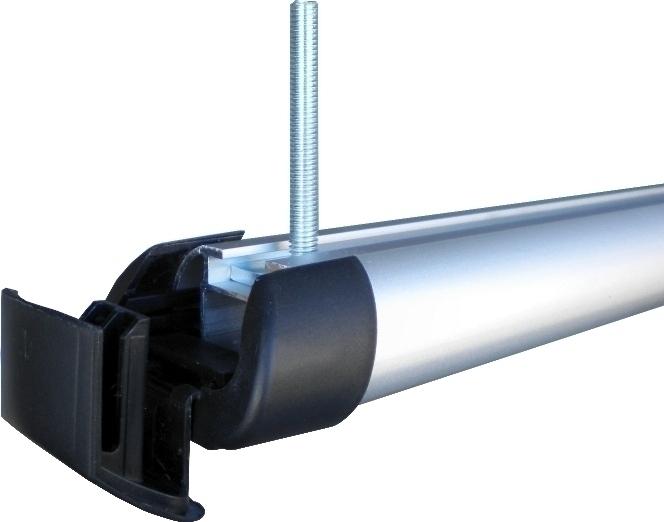 Hakr T-adaptéry pro zvyšovací podložky nosiče lyží (80 mm) - sada 4ks