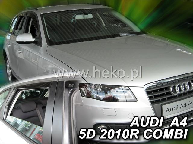 Heko • Ofuky oken Audi A4 2009- (+zadní) combi • sada 4 ks