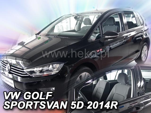 Heko • Ofuky oken Volkswagen VW Golf VII 2014- Sportsvan • sada 2 ks