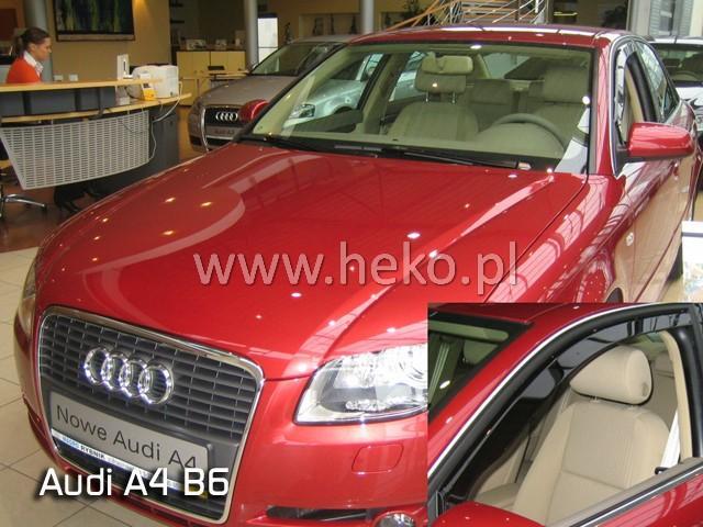 Heko • Ofuky oken Audi A4 B6 2002- • sada 2 ks