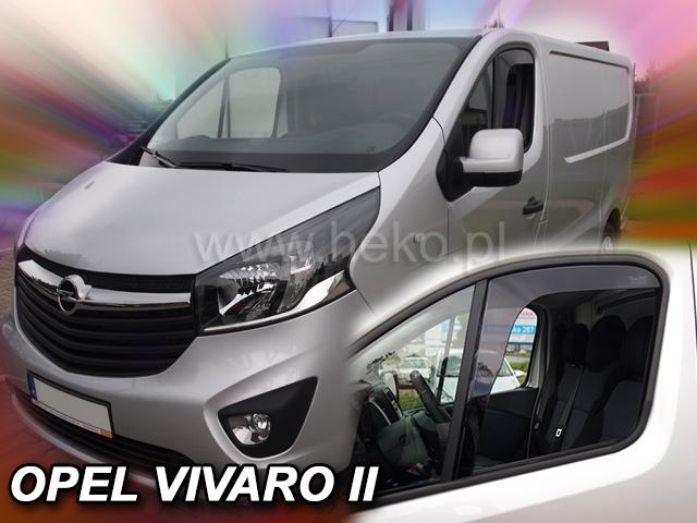 Heko • Ofuky oken Opel Vivaro II 2014- • sada 2 ks