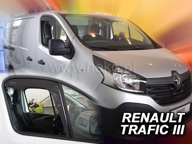Heko • Ofuky oken Renault Trafic III 2014- • sada 2 ks
