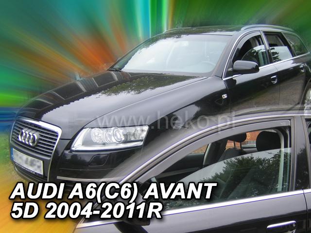 Heko • Ofuky oken Audi A6 2003- • sada 2 ks