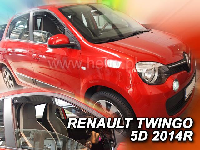 Heko • Ofuky oken Renault Twingo 5D 2014- • sada 2 ks