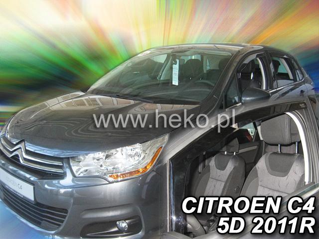 Heko • Ofuky oken Citroen C4 II 2011- • sada 2 ks