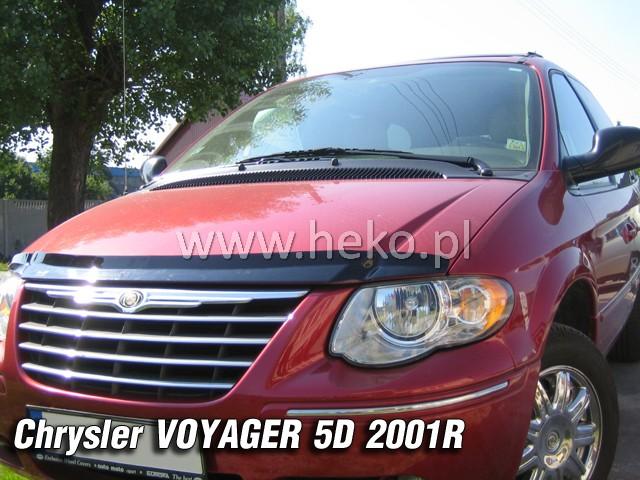Heko • Deflektor kapoty Chrysler Grand Voyager 2001-