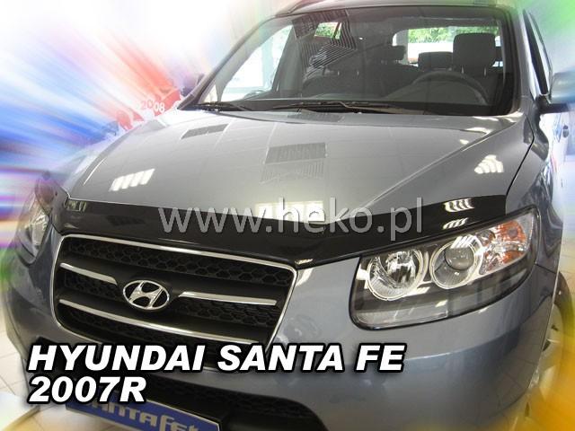 Heko • Deflektor kapoty Hyundai Santa Fe 06--12