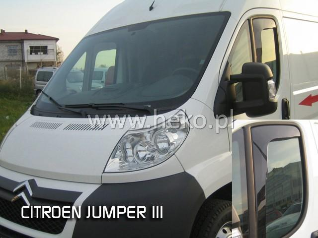Heko • Ofuky oken Citroen Jumper 2006- • sada 2 ks