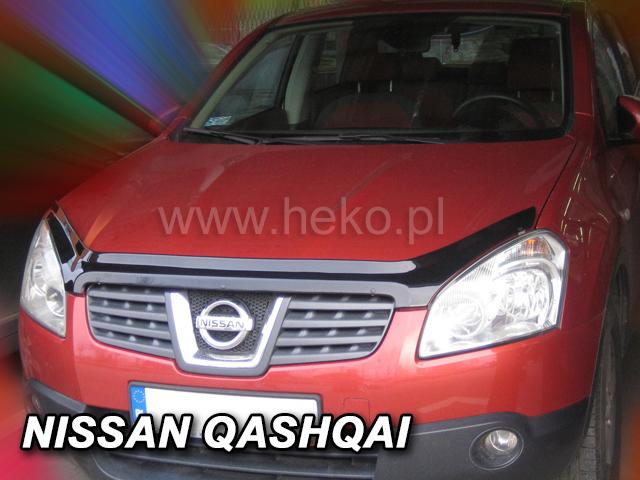 Heko • Deflektor kapoty Nissan Qashqai 2007--10