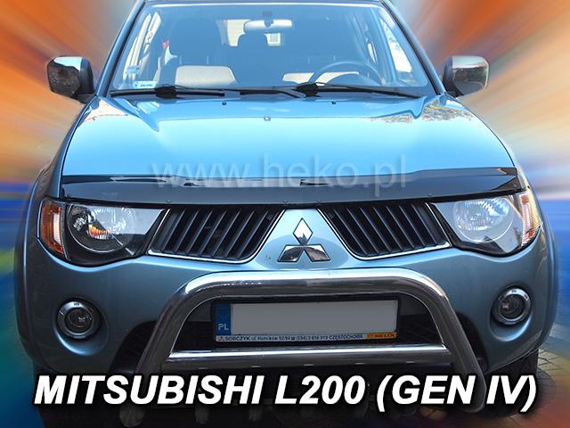 Heko • Deflektor kapoty Mitsubishi L200 IV 2006-