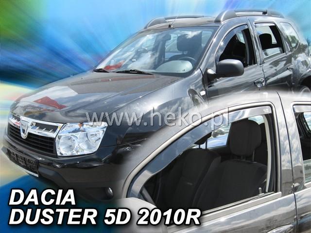 Heko • Ofuky oken Dacia Duster 2010- • sada 2 ks