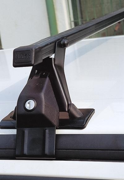 Střešní nosiče Škoda Fabia I 2000- htb (na holou střechu) • ocel • Hakr