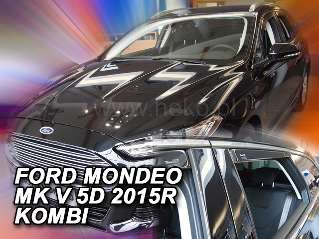 Heko • Ofuky oken Ford Mondeo 2015- (+zadní) combi • sada 4 ks