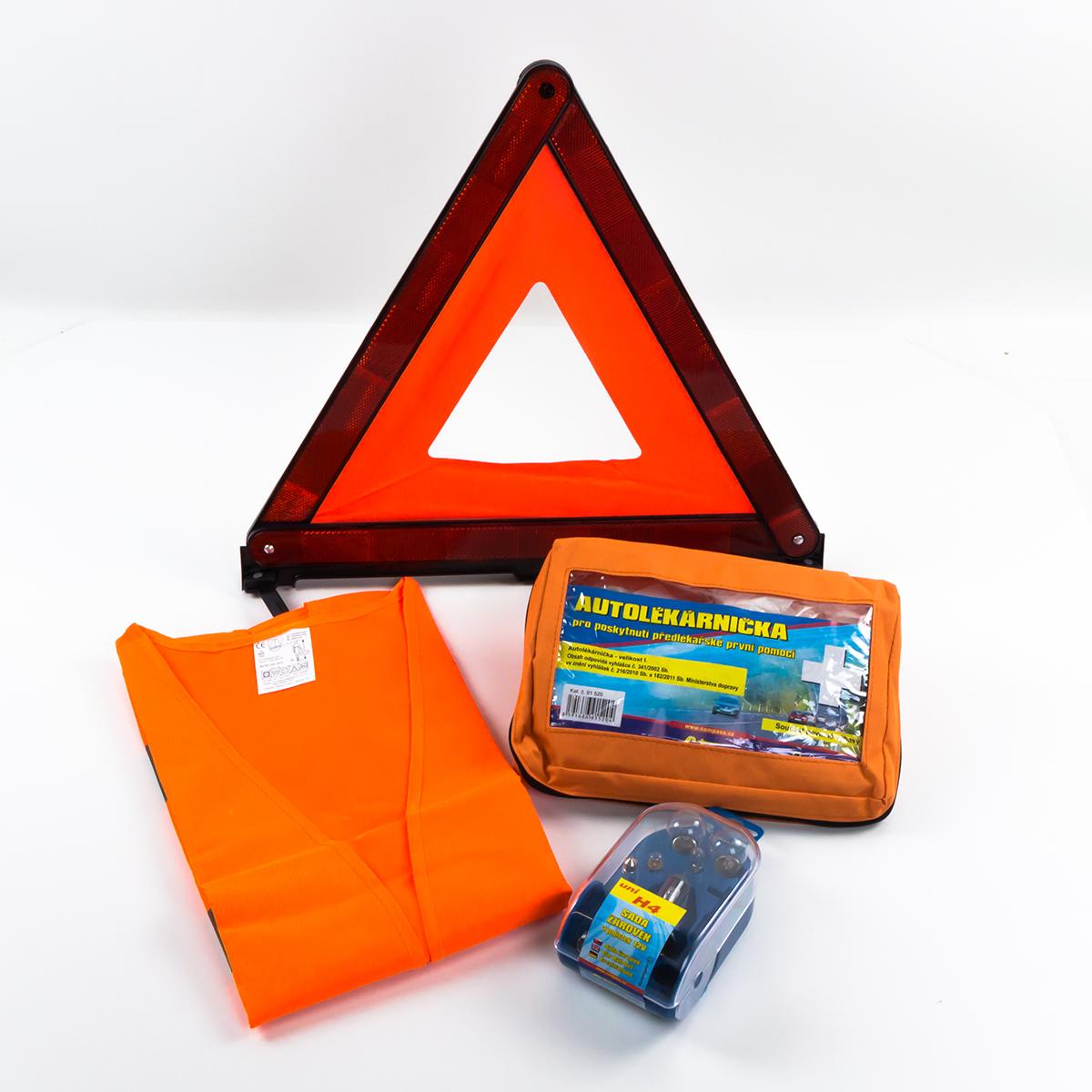 Compass • Balíček povinné výbavy se servisním boxem žárovek H4