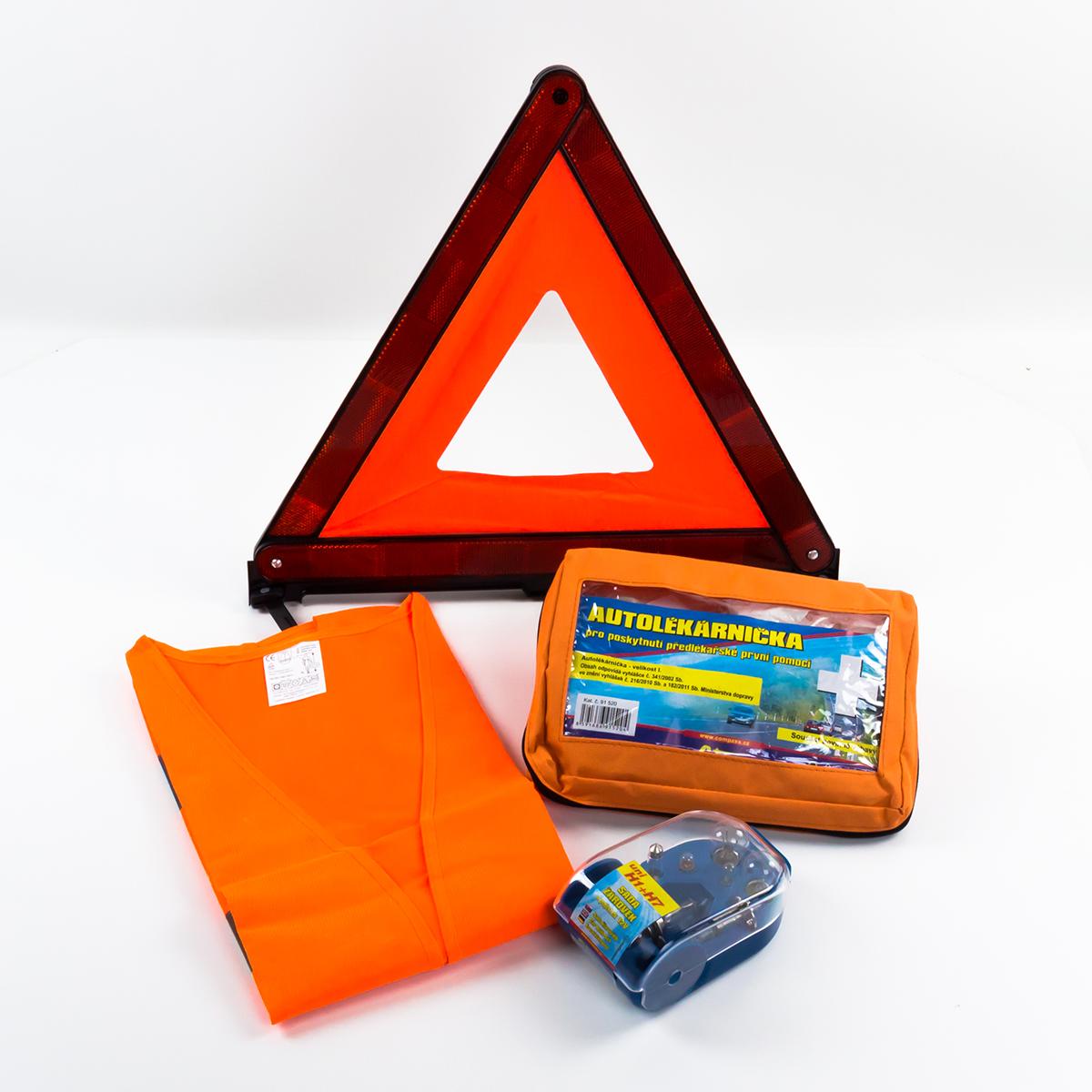 Compass • Balíček povinné výbavy se servisním boxem žárovek H1+H7