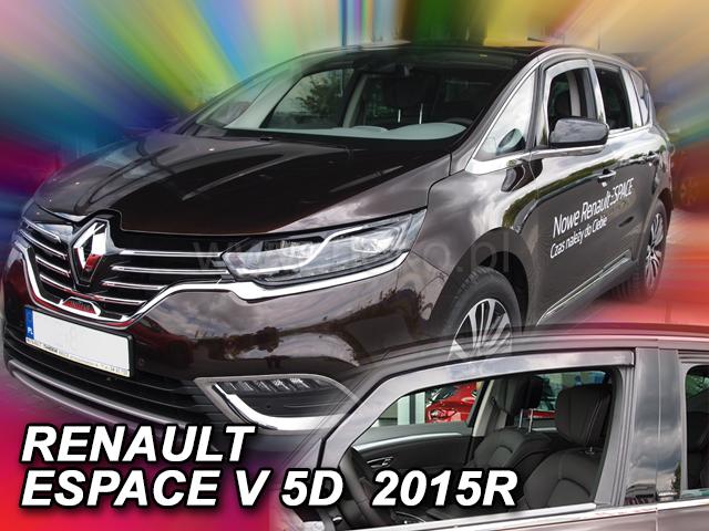 Heko • Ofuky oken Renault Espace V 2014- • sada 2 ks