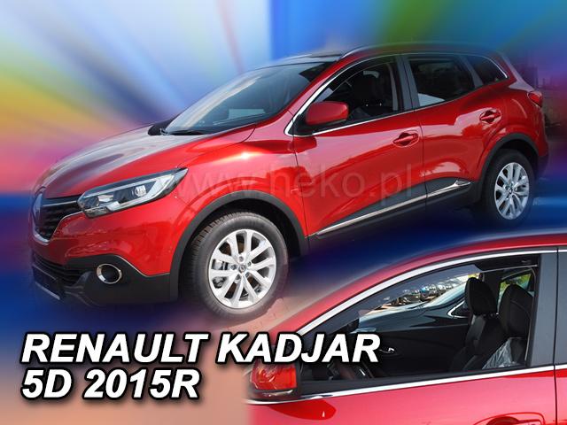 Heko • Ofuky oken Renault Kadjar 2015- • sada 2 ks