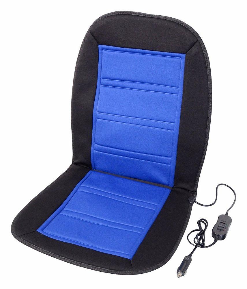 Compass • Potah sedadla vyhřívaný s termostatem 12V LADDER modrý
