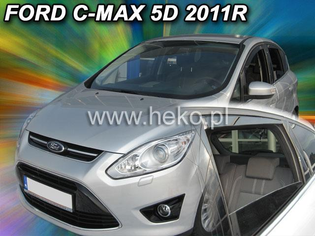 Heko • Ofuky oken Ford Focus C-Max 2011- (+zadní) • sada 4 ks