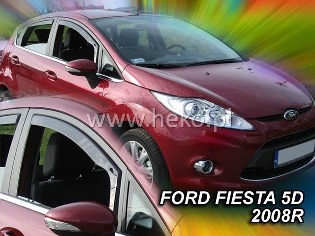 Heko • Ofuky oken Ford Fiesta 2008- • sada 2 ks