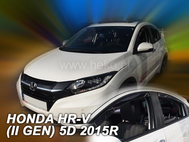 Heko • Ofuky oken Honda HR-V II 2015- (+zadní) • sada 4 ks