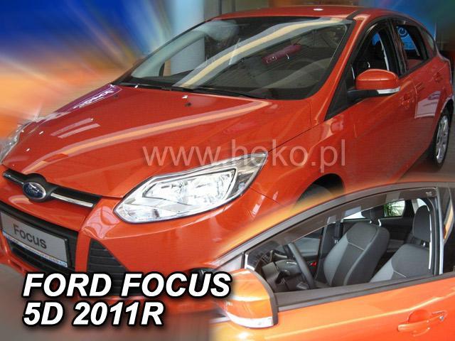 Heko • Ofuky oken Ford Focus III 2011- • sada 2 ks