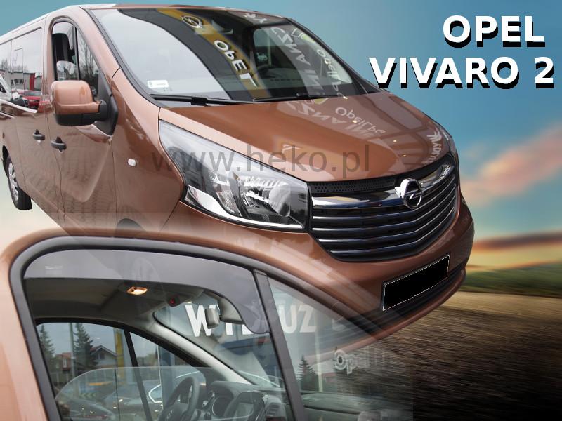 Ofuky oken Opel Vivaro II 2014-2016 OPK (krátké)