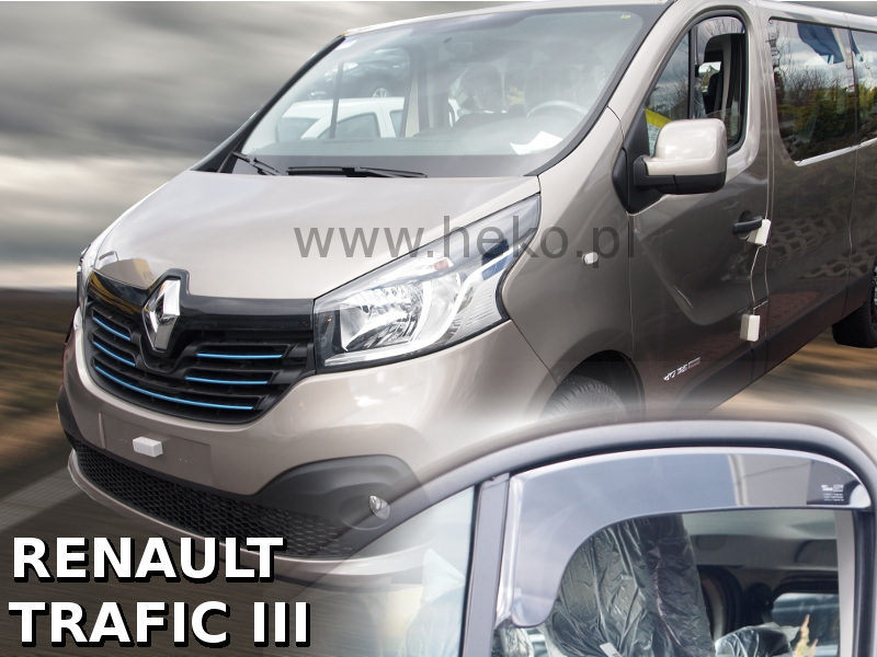 Ofuky oken Renault Trafic III 2014-2016 OPK (krátké)