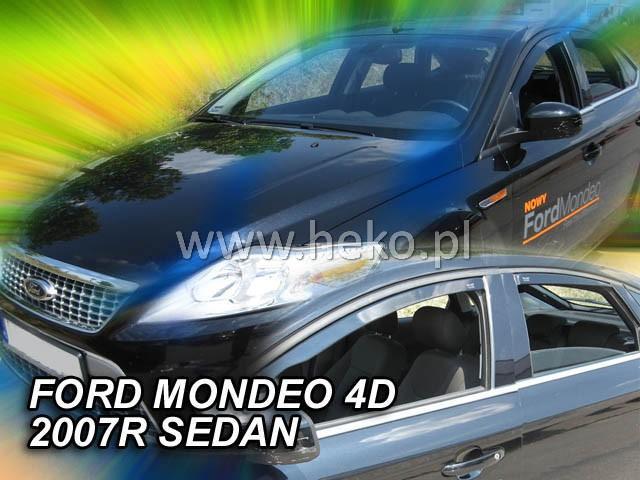 Heko • Ofuky oken Ford Mondeo 2007- (+zadní) sed/htb • sada 4 ks