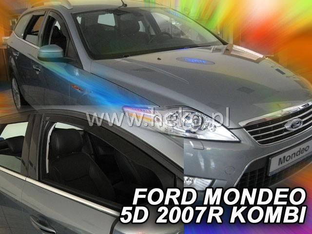 Heko • Ofuky oken Ford Mondeo 2007- (+zadní) combi • sada 4 ks