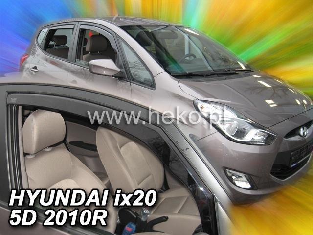 Heko • Ofuky oken Hyundai ix20 2010- • sada 2 ks