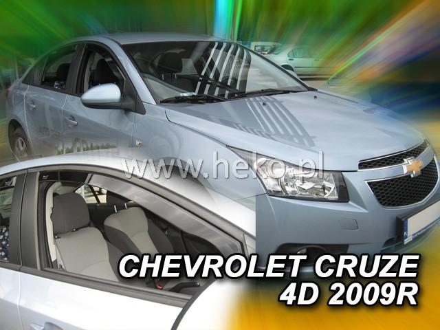 Heko • Ofuky oken Chevrolet Cruze 2009- • sada 2 ks