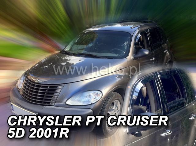 Heko • Ofuky oken Chrysler PT Cruiser 2001- • sada 2 ks